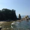 新潟県村上市の名勝天然記念物 笹川流れです。